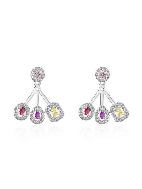 earrings-colorful-triple-gem-earrings-in-white-gold-1