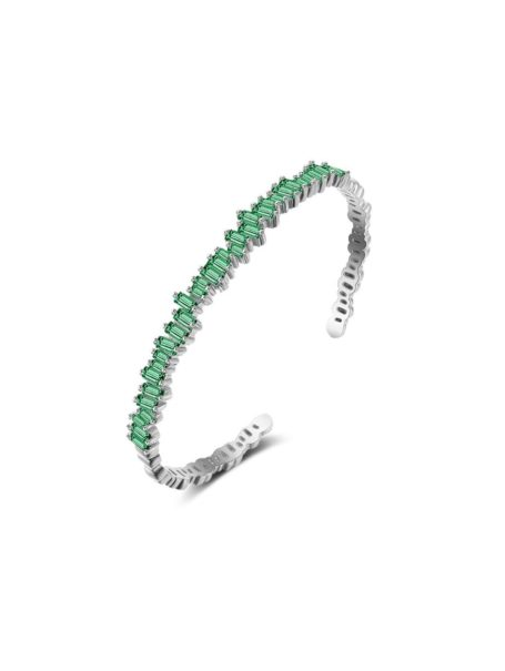 bracelets-dazzling-baguette-jewelled-open-bangle-in-white-gold-emerald-green-1