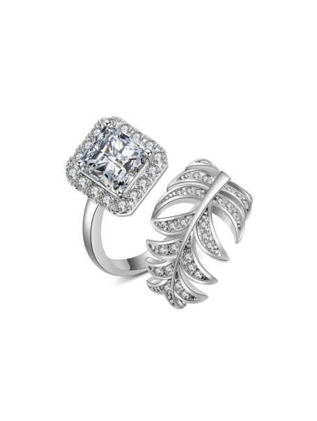rings-luxury-leaf-square-gem-open-ring-in-white-gold-1