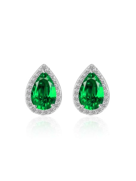 earrings-classic-water-drop-crystal-ear-studs-in-white-gold-emerald-green-1