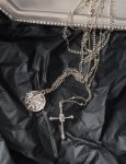 necklaces-coin-cross-layered-pendant-necklace-in-silver-4