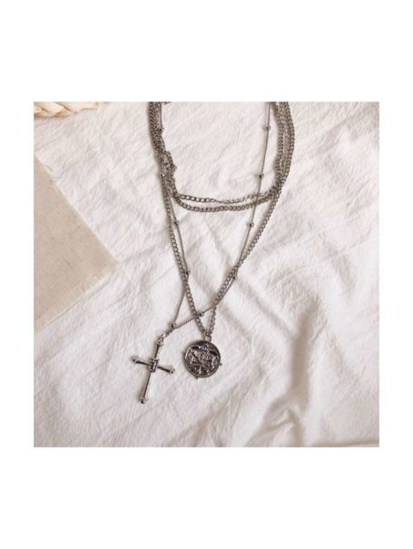 necklaces-coin-cross-layered-pendant-necklace-in-silver-1