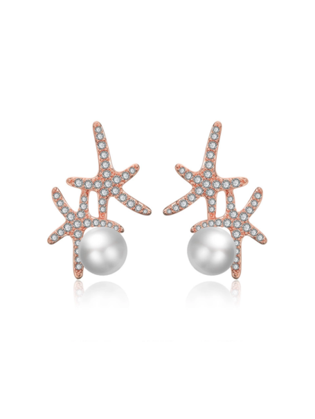 earrings-crystal-starfish-pearl-ear-studs-in-rose-gold-1