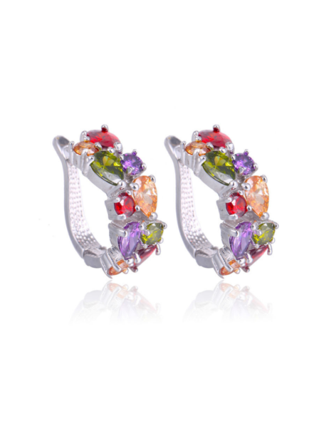 earrings-gem-huggies-in-white-gold-multi-coloured-1