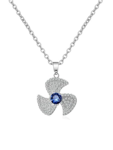 necklaces-crystal-fan-pendant-necklace-in-white-gold-sapphire-blue-1