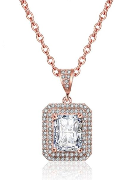 necklaces-classic-square-gem-pendant-necklace-in-rose-gold-1