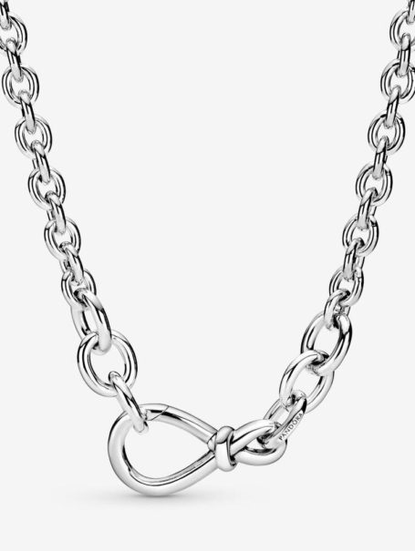 necklaces-chunky-infinity-knot-necklace-chain-in-silver-1